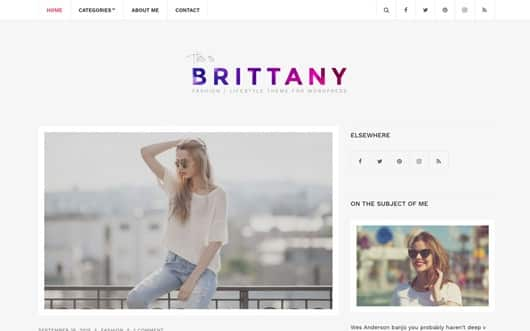 Screenshot of Brittany Light